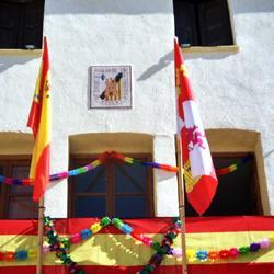 Balcon Engalanado
